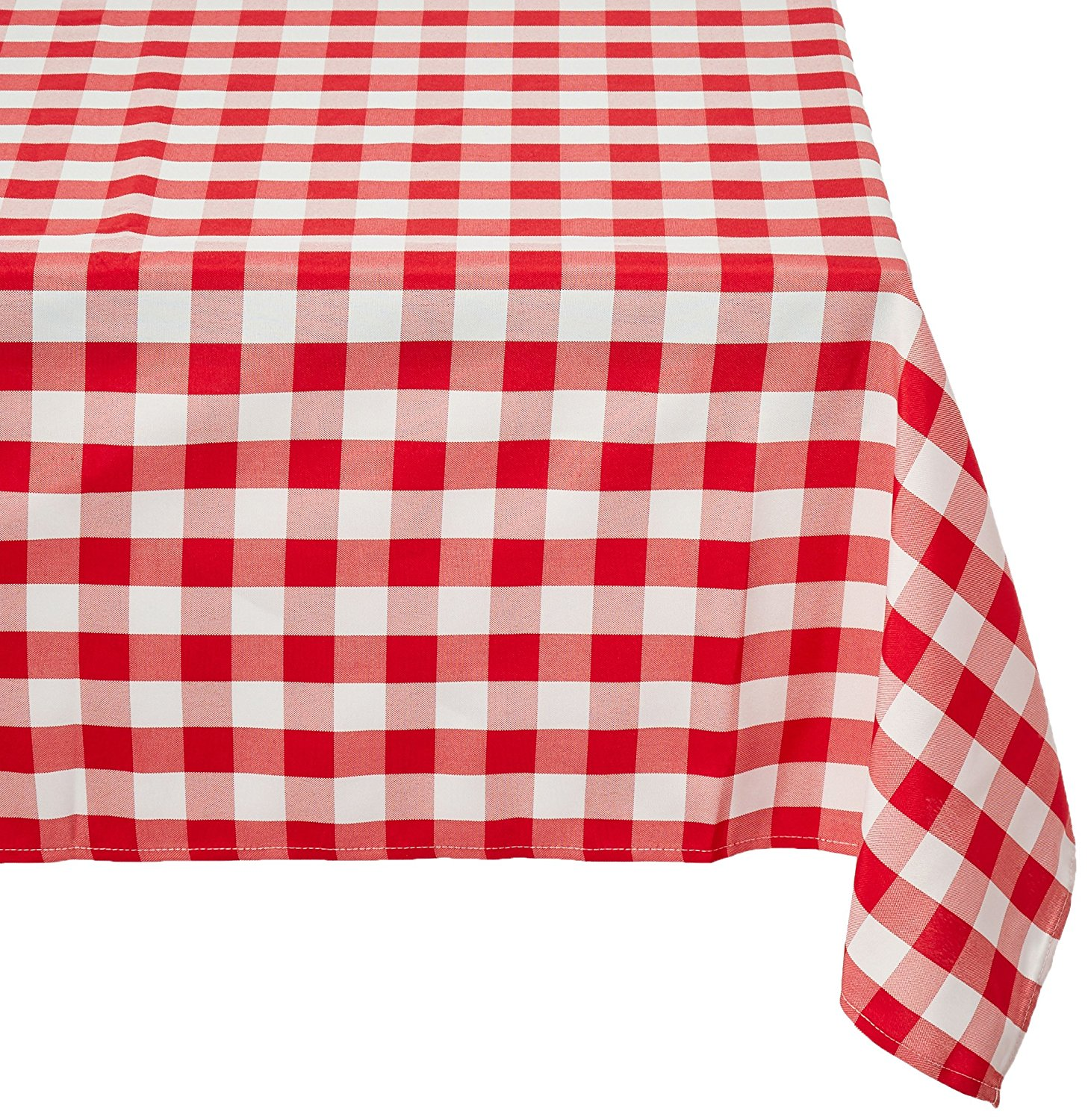 red and white checkered paper tablecloths Wholesale wedding table linens, tablecloths, table covers, chair covers, table runners, table overlays, chair sashes, napkins over 56 colors, many fabrics & sizes.